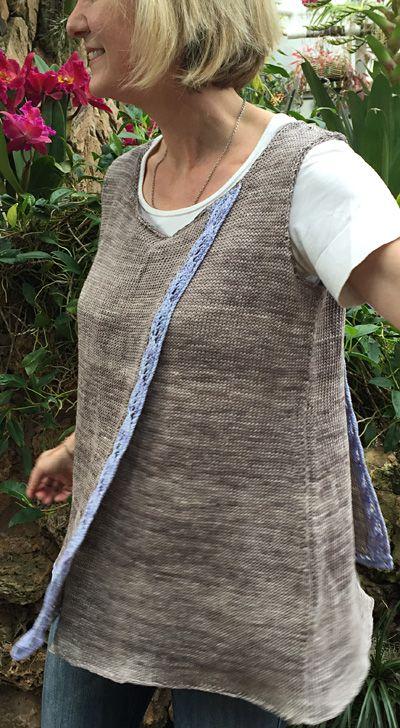 Bay laurel pullover : Knitty.com - Spring+Summer 2016