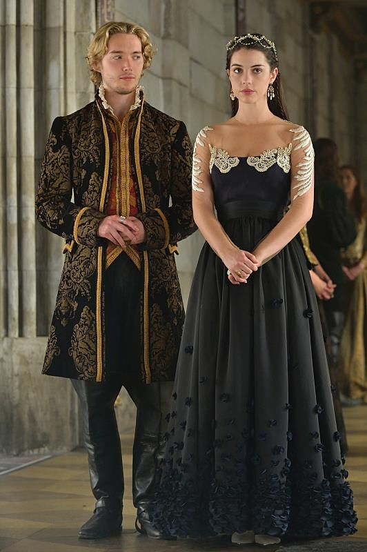 """#Reign 2x07 """"The Prince of the Blood"""" - King Francis and Queen Mary"""