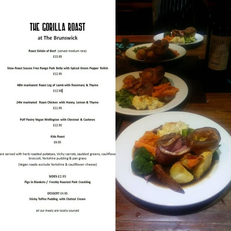 15 best gorilla images on pinterest arm roast roast and to start sunday lunch we have limited quantities so book your table now children and dog friendly forumfinder Image collections