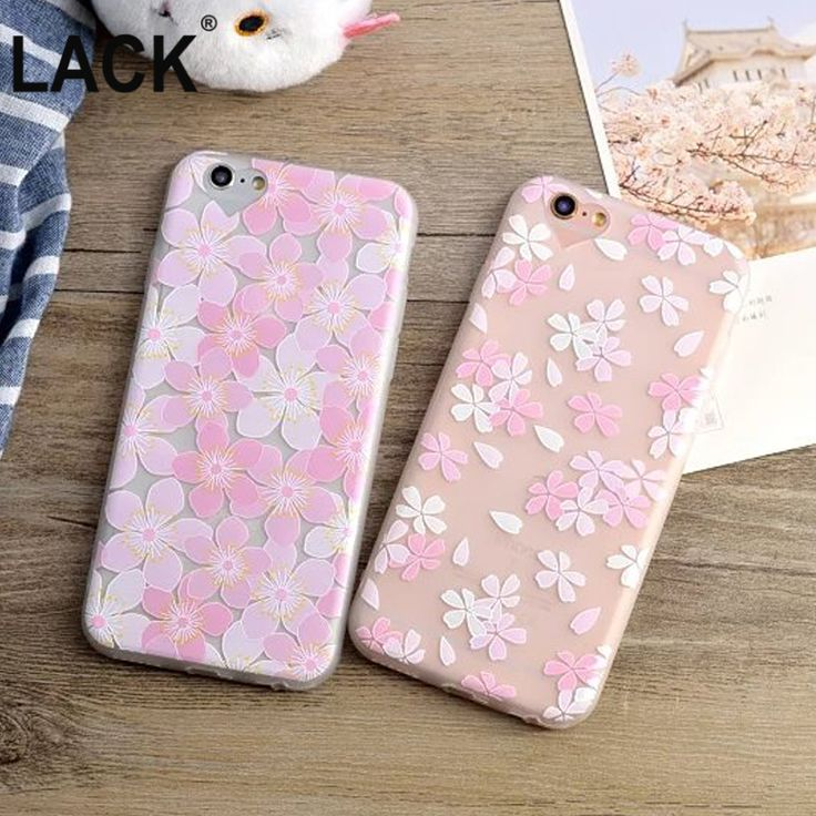 Top Selling Ultrathin Cartoon Flower Case for iphone 6 6S Plus 6+ Floral oriental cherry Plants Pattern Phone Cases Cover Capa