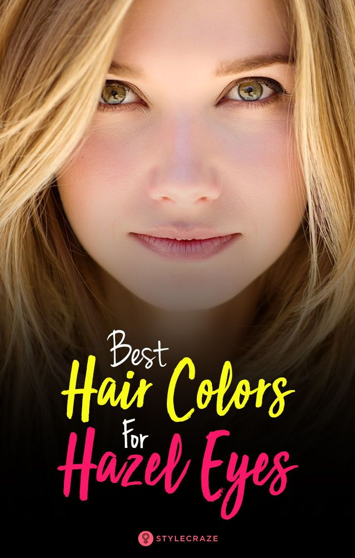 Best Hair Color For Hazel Eyes With Different Skin Tones Skin Tone Hair Color Hazel Eyes Hair Color Pale Skin Hair Color