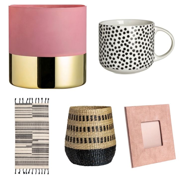 Highstreet home interiors - H&M - More than Blush