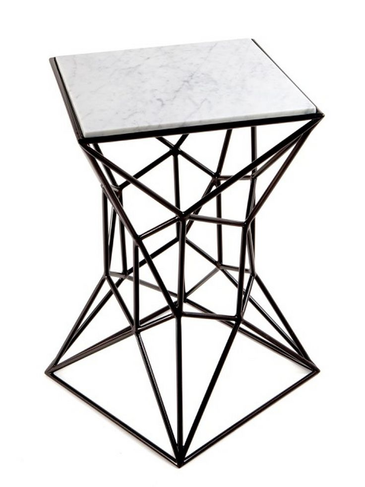 Beautiful The Archimedes Collection Comes In Four Styles; Coffee Table, Pedestal Table,  Small Side Table, And Large Side Table. Fabricated From Powder Coated Steel  ...