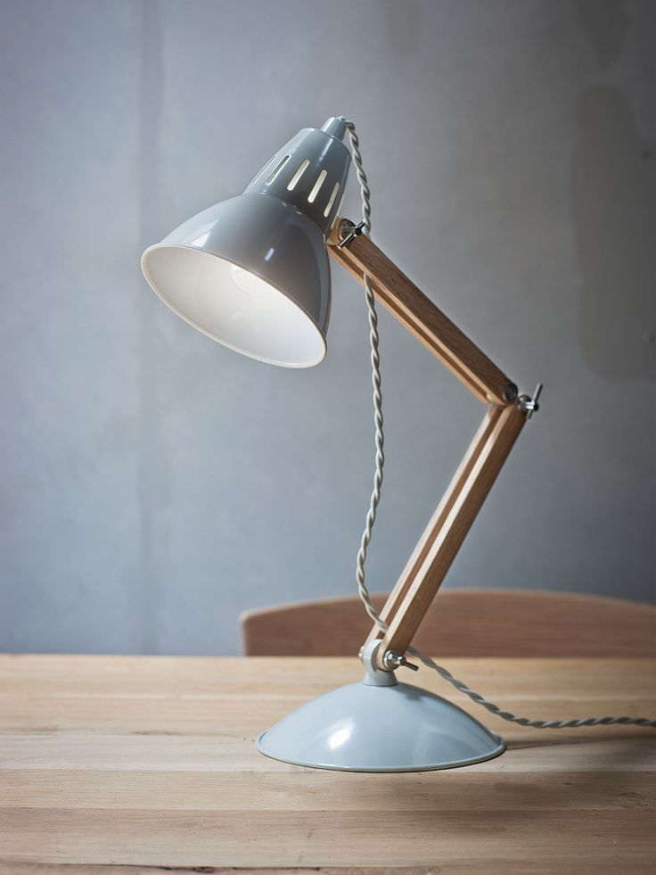 wood and metal table lamp cox cox product. Black Bedroom Furniture Sets. Home Design Ideas
