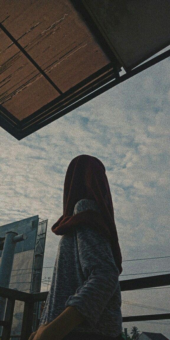 Hijab Pose Fotografi Wanita Fotografi Potret Diri