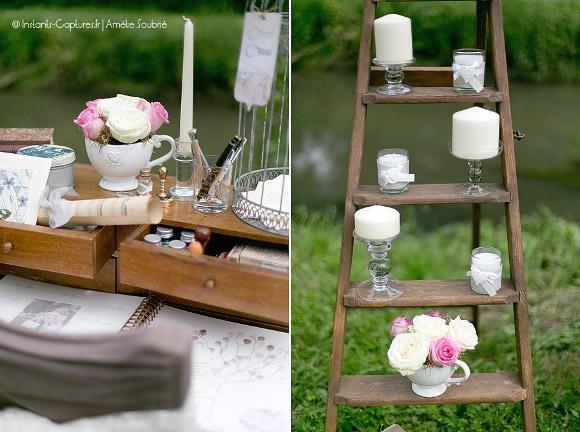id e d coration mariage romantique chic lierre vous events party deko pinterest chic. Black Bedroom Furniture Sets. Home Design Ideas