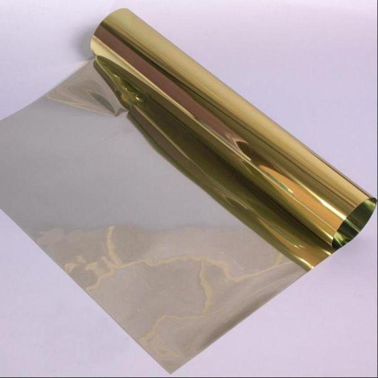 1Mx30cm One Way Solar Reflective Mirror Insulation Window Film Tint Self Ahesive Privacy Glass Sticker Home Sunscreen Film