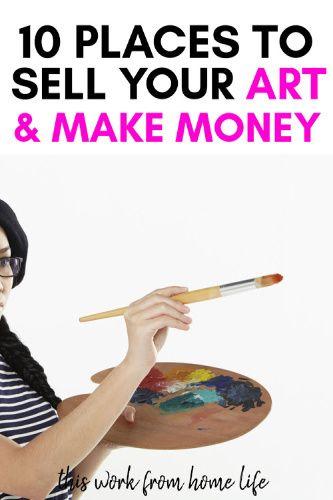 Wie man Geld als Künstler online verdient – Work at Home Moms