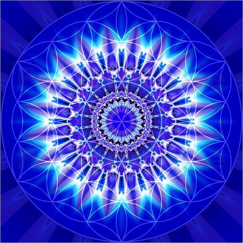Christine Bässler - Mandala Spiritualität mit Blume des Lebens