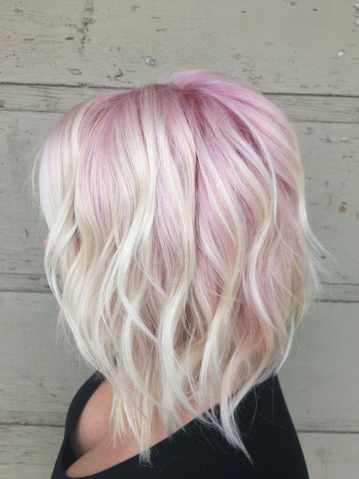 Awe Inspiring 1000 Ideas About Pink Blonde Hair On Pinterest Blonde Hair Short Hairstyles Gunalazisus