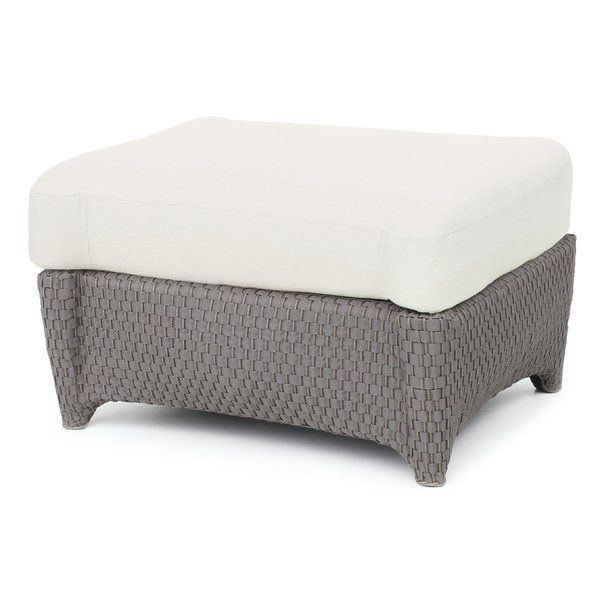 Best Famous Precision Ottoman With Cushion By Seasonal Living Furniture Patiofurniture Patio Ottoman Outdoor Ottomans Ottoman