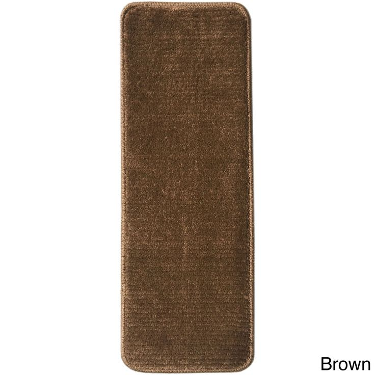 Ottomanson Softy Collection Contemporary Design Stair Tread Rug