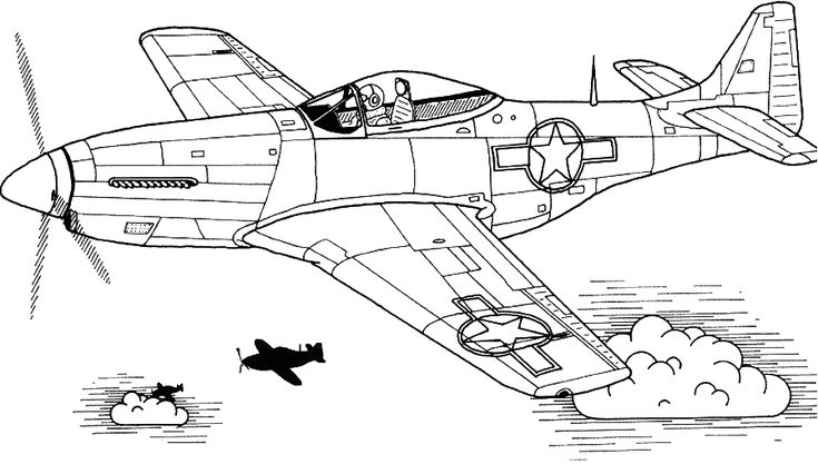 Military Airplane Coloring Pages | Airplane coloring pages ...