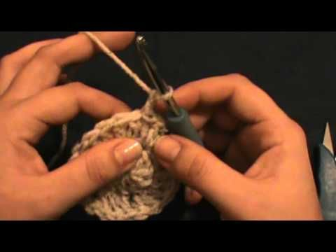 Crochet Slouchy Hat Part 1 - YouTube