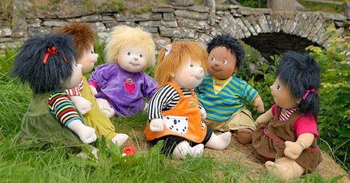 Zigouzis, poupées suédoises Rubens Barn, ORIGINAL