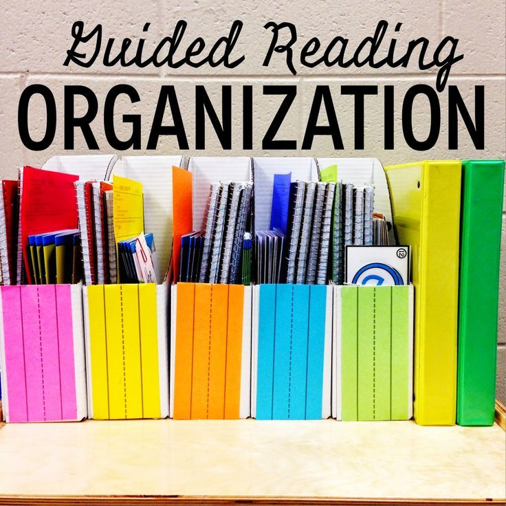 Guided Reading Organization Part 1