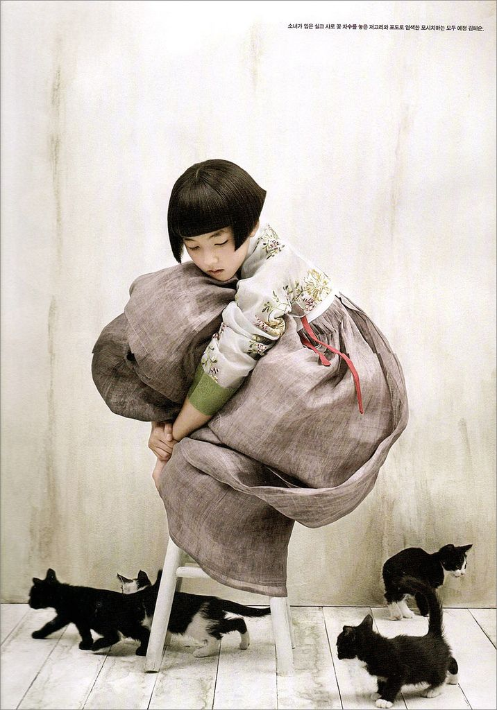 Kim Kyung Soo for Vogue Korea. S)