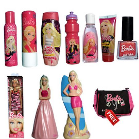 Barbie personal care kit