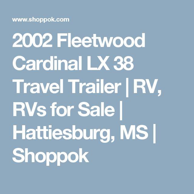 Travel Trailers For Sale In Hattiesburg Ms