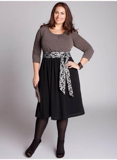 vestidos largos para gorditas - Buscar con Google
