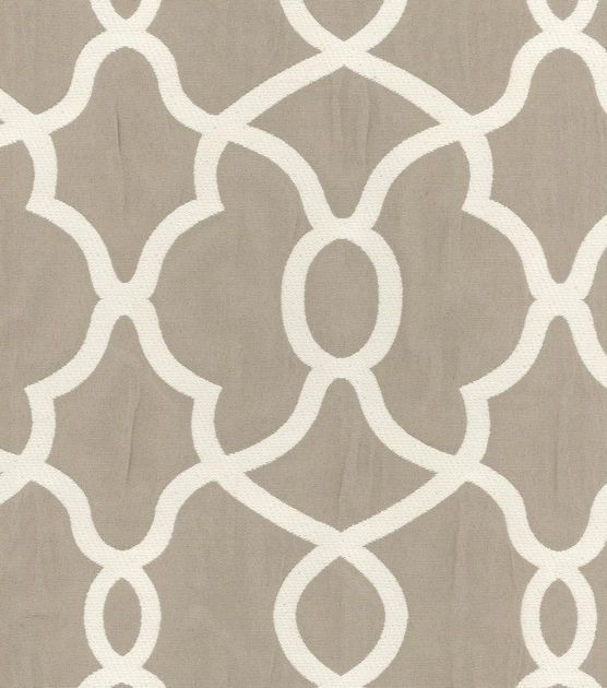 Kelly Ripa Upholstery Fabric-Clearly Cool Stone