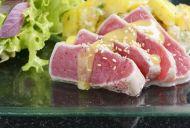 Tuna Salad with Lemon and Caper Dressing