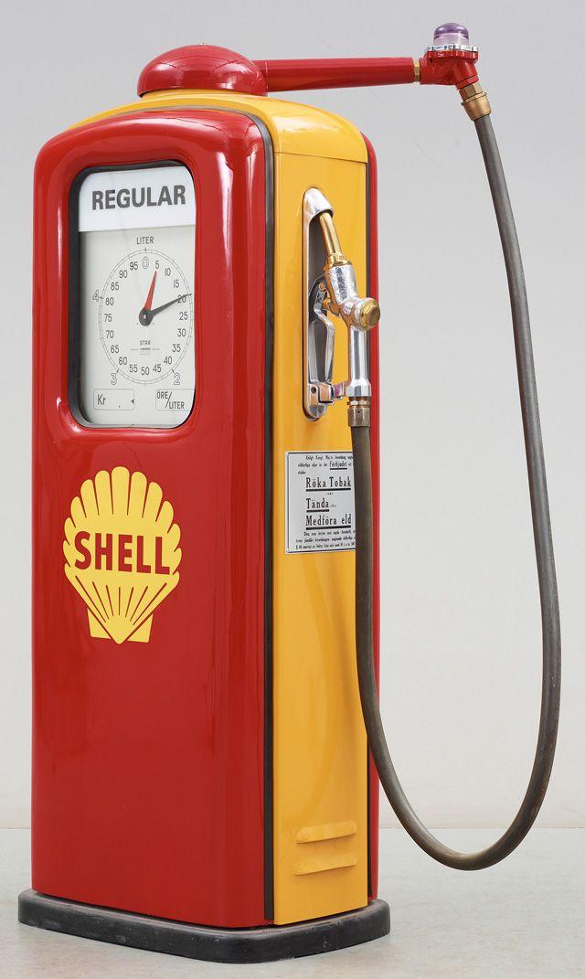 Ljungmans Petrol Pump - Shell Oil Company