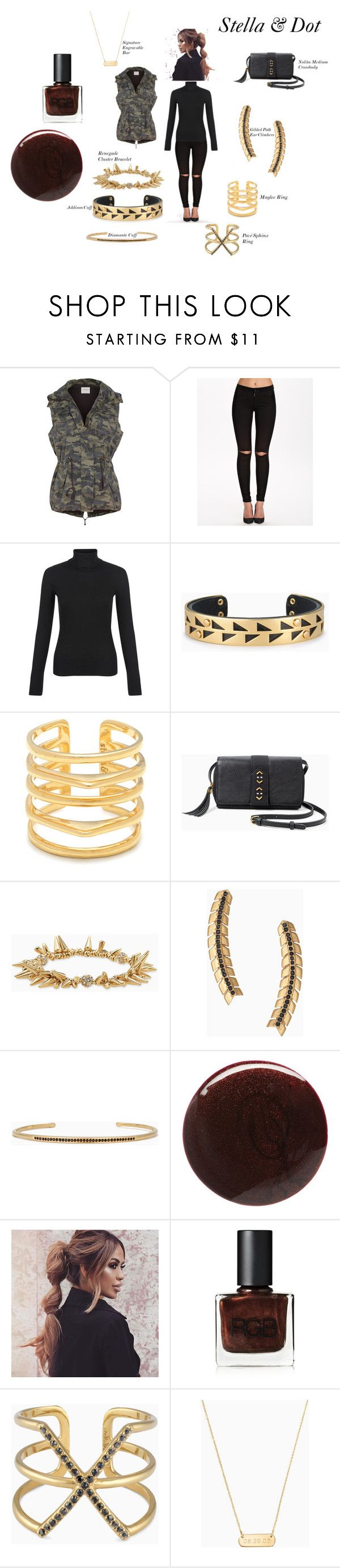 """Styled By Stella"" by flourish-faith on Polyvore featuring Velvet by Graham & Spencer, ONLY, New Look, Stella & Dot and RGB"