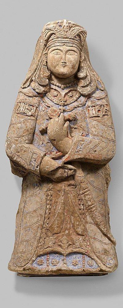 Seljuk Stucco Figure mid-11th century-mid-12th century
