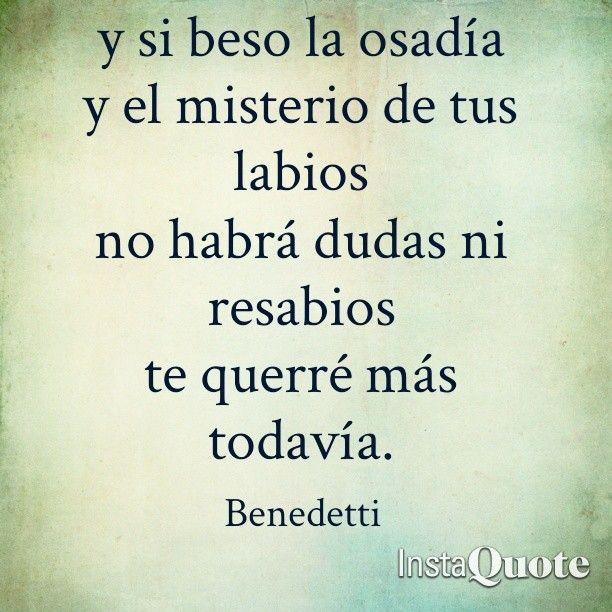 Versos De Libros: Buenos Días :) #benedetti #benedettifrases #bookslovers