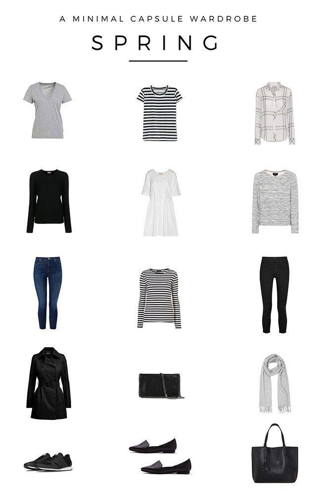 Spring Capsule Wardrobe: Best 25+ Capsule Wardrobe 2018 Ideas On Pinterest