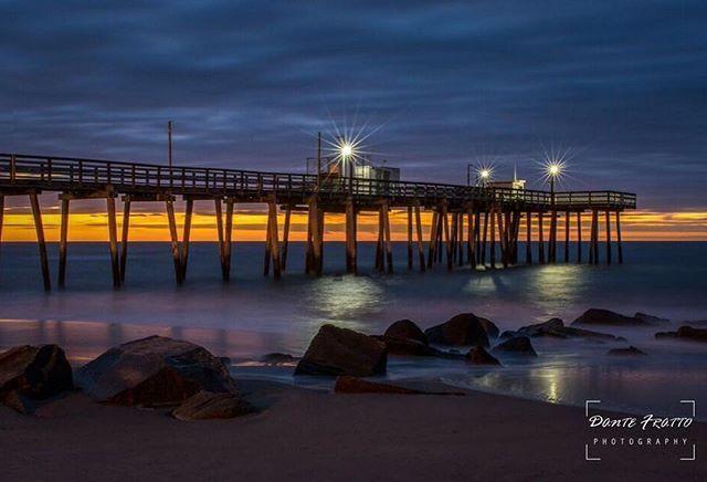 Beautiful early morning beach shot from Margate Beach, New Jersey taken by @dantefrattophotography! #NJisBeautiful