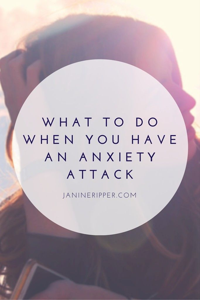 how to avoid anxiety attacks at work