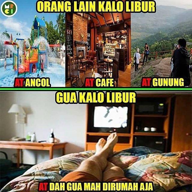 "43.9k Likes, 278 Comments - Meme Comic Indonesia (MCI) (@memecomicindonesia) on Instagram: ""Syp nih yg lbrn cmn d rmh aja ? Hahhaha"""