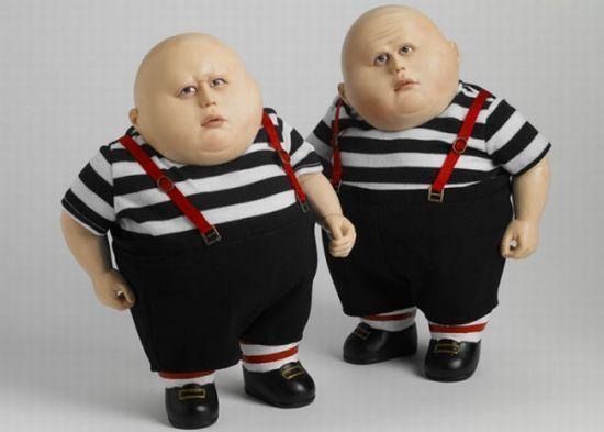 Tonner announces the rather terrifying Tweedledum and Tweedledee ...