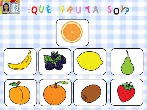 frutas y mitades
