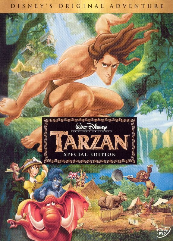 Tarzan [Special Edition] (DVD) (Enhanced Widescreen for 16x9 TV) (English/French/Spanish) 1999 - Larger Front
