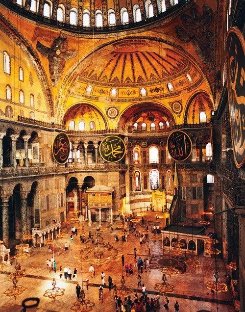 Agia Sophia, Istanbul, Turkey