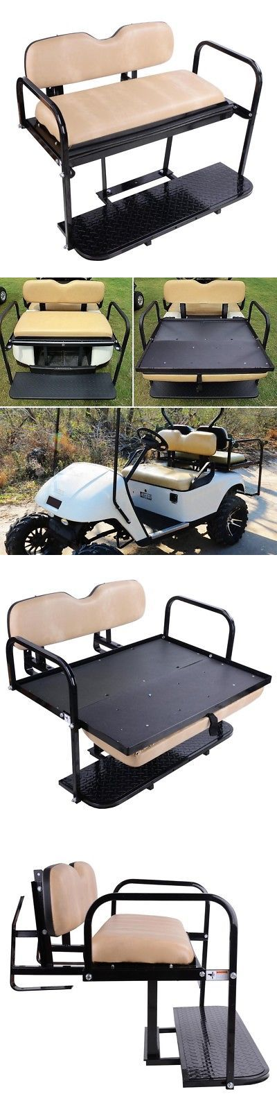 Push-Pull Golf Cart Parts 181154: Ezgo Txt (1995-2014) Golf Cart Classic Rear Flip Back Seat Kit Cargo Bed -> BUY IT NOW ONLY: $293.9 on eBay!