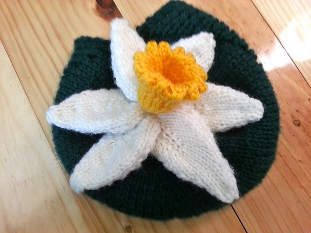 Ravelry: AnniePenny79's Australia's Biggest Morning Tea Official Daffodil Cosy