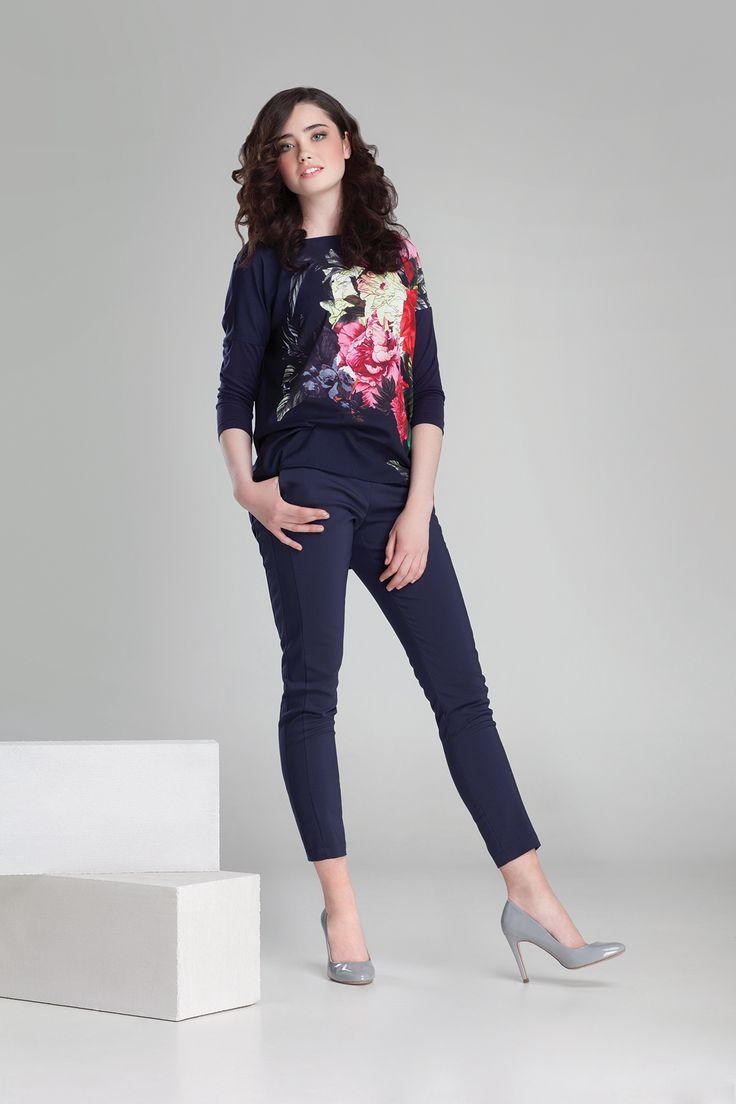 Nowa kolekcja #danhen #jesienzima2014 #fw2014 #fashion #totallook #navy