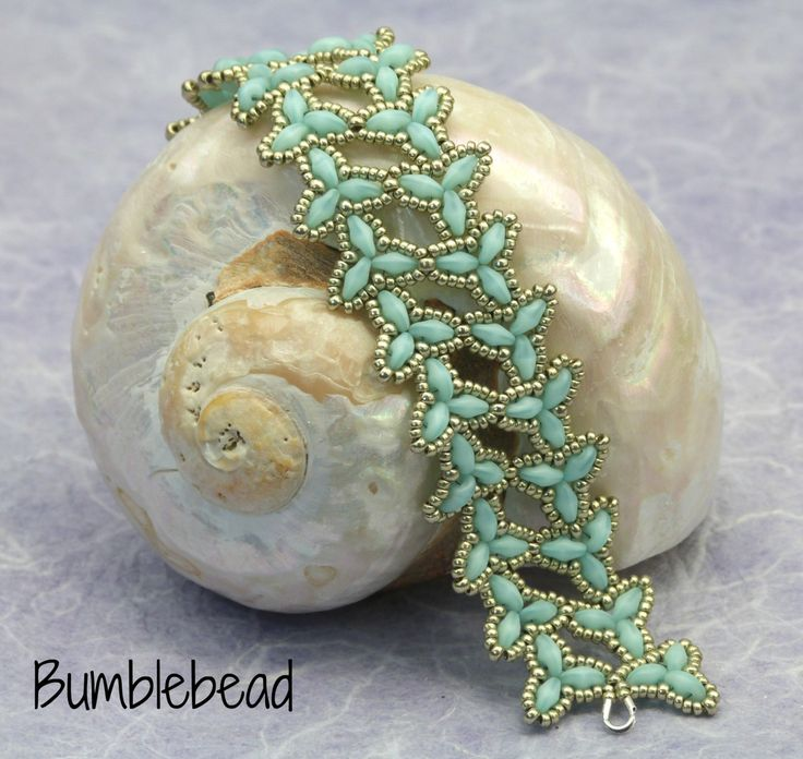 Elven armband Tutorial een Zoetwaterparel door BumblebeadCrafts