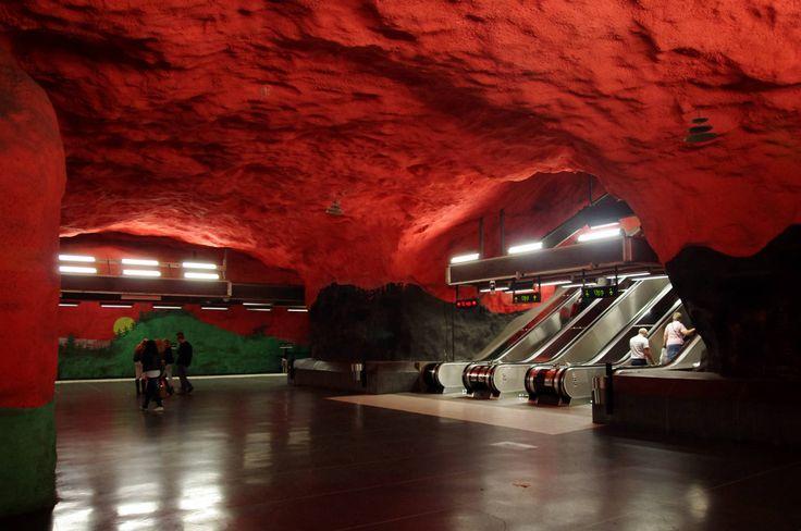 To μετρό της Στοκχόλμης είναι το πιο όμορφο της Ευρώπης | GRAPHICO | DESIGN & STYLE | Blogs | LiFO