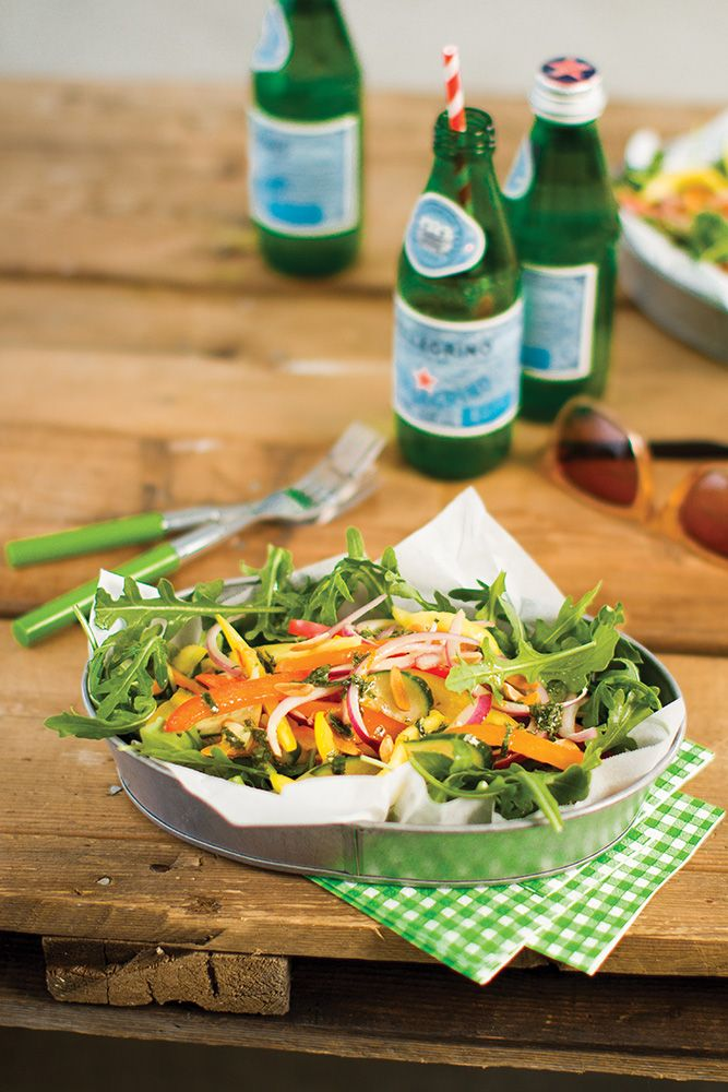 Mango Cucumber Salad with Mint and Chili Vinaigrette from Whitewater Cooks with Passion by Shelley Adams
