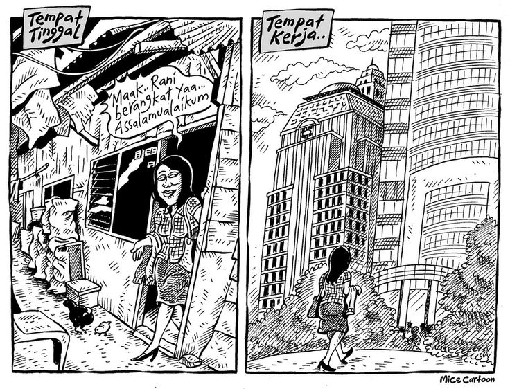 Mice Cartoon, Kompas 4 Mei 2014: Tempat Tinggal & Tempat Tinggal