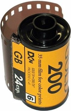 "Kodak once dominated the photo business .. but it was ""almost destined"" to fail. Bet most children don't know what this film canister is. They thought of the idea of a digital camera but they didn't act on it. So someone else did. By that point they didn't have the competitive advantage. Kodak are in bankruptcy"