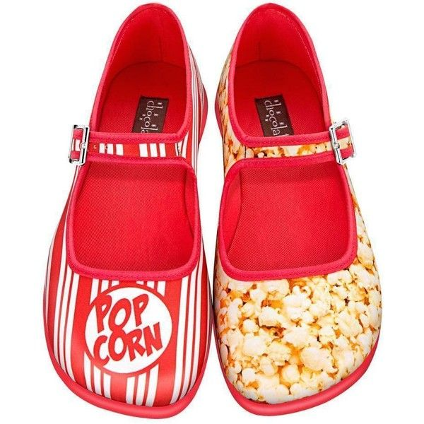 Chocolaticas Popcorn Women's Mary Jane Flat ($70) ❤ liked on Polyvore featuring shoes, flats, maryjane flats, multi color flats, mary jane flats, mary jane shoes flats and flat pump shoes