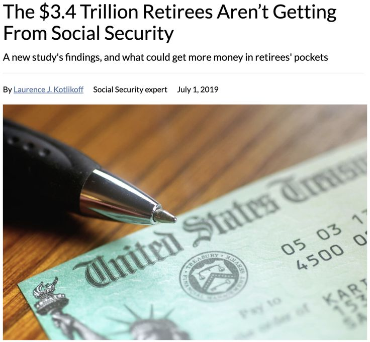 """The 3.4 Trillion Retirees Aren't Getting From"