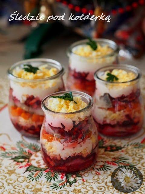 Kulinarne Szaleństwa Margarytki: Śledzie pod kołderką