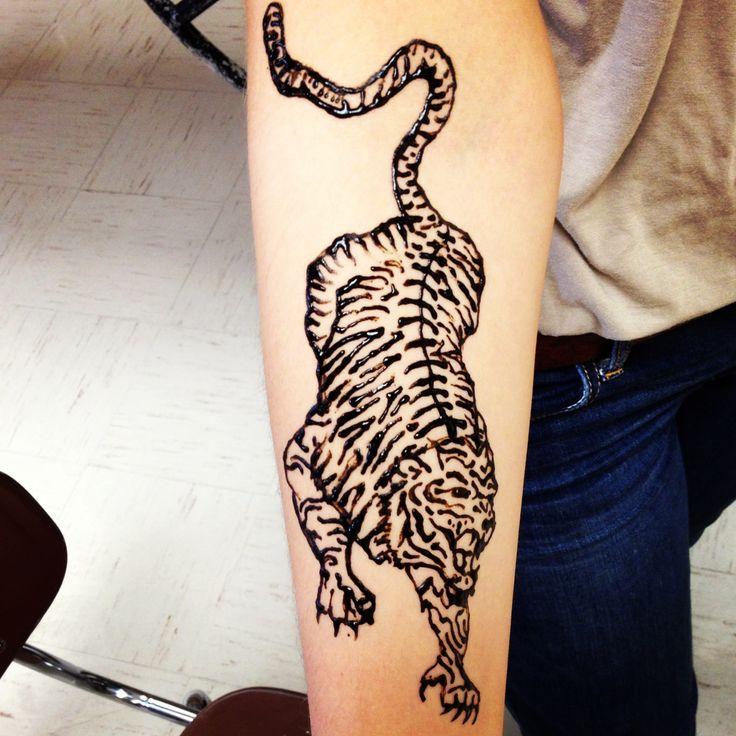 Tiger Adam Levine henna | Mehendi | Pinterest